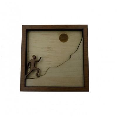Μαγνήτης ξύλινος 3D ΔΡΟΜΕΑΣ
