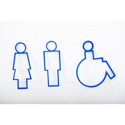 Πινακίδα σήμανσης  WC