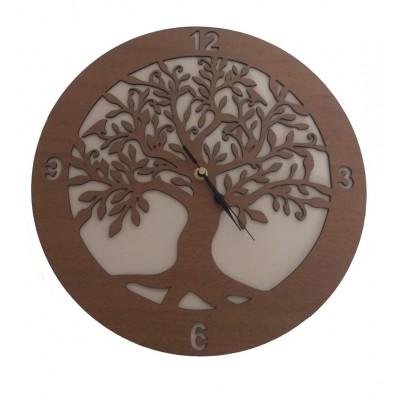 Ρολόι ξύλινο ΔΕΝΤΡΟ ΤΗΣ ΖΩΗΣ