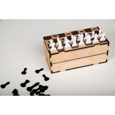 Σκάκι ξύλινο κασετίνα
