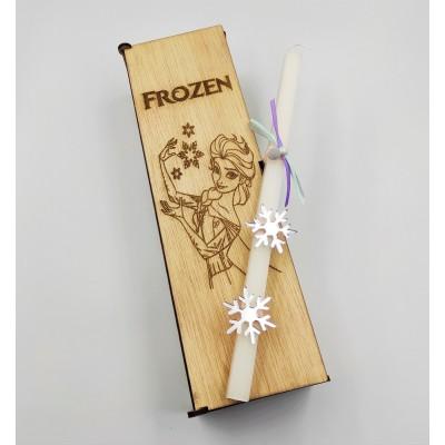 """Λαμπάδα """"Frozen"""""""